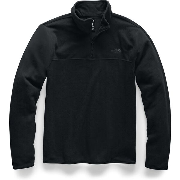 MEN'S TKA GLACIER 1/4 ZIP, TNF BLACK/TNF BLACK, hi-res