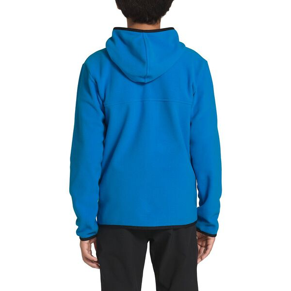 Boys' Glacier Full Zip Hoodie, CLEAR LAKE BLUE, hi-res