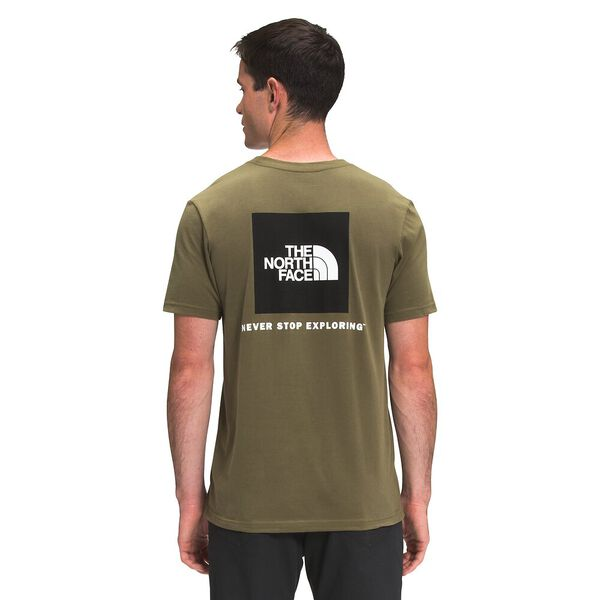 Men's Short-Sleeve Box NSE Tee, BURNT OLIVE GREEN, hi-res