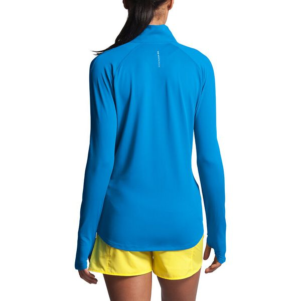 Women's Essential ½ Zip, CLEAR LAKE BLUE, hi-res