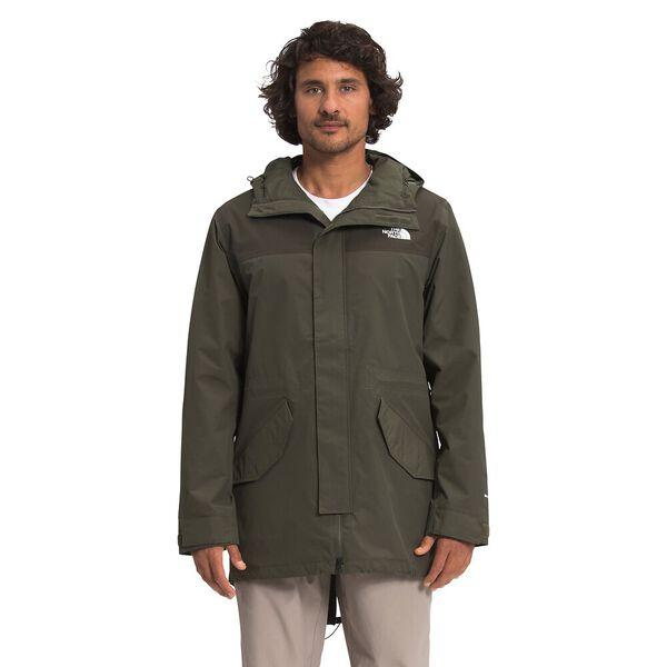 Men's City Breeze Rain Parka, NEW TAUPE GREEN/NEW TAUPE GREEN 1D, hi-res