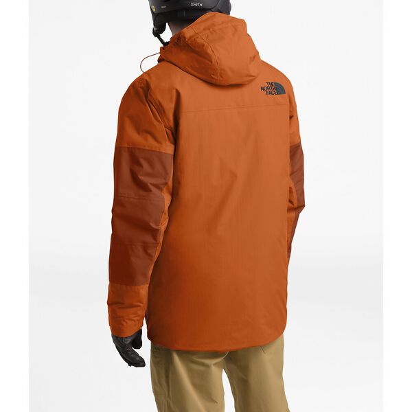 MEN'S GOLDMILL PARKA, PAPAYA ORANGE/PICANTE RED, hi-res