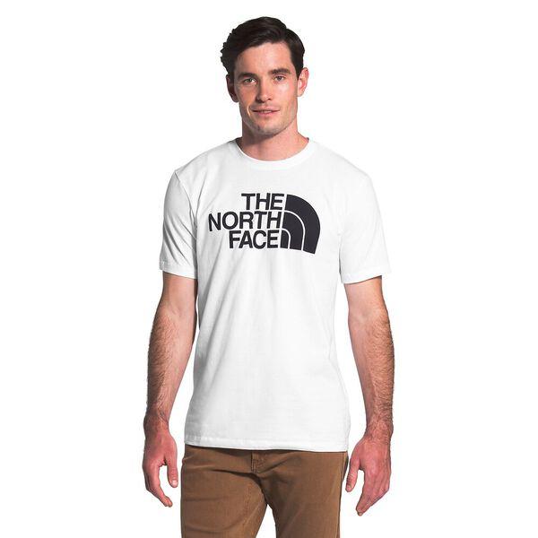 Men's Short-Sleeve Half Dome Tee, TNF WHITE, hi-res