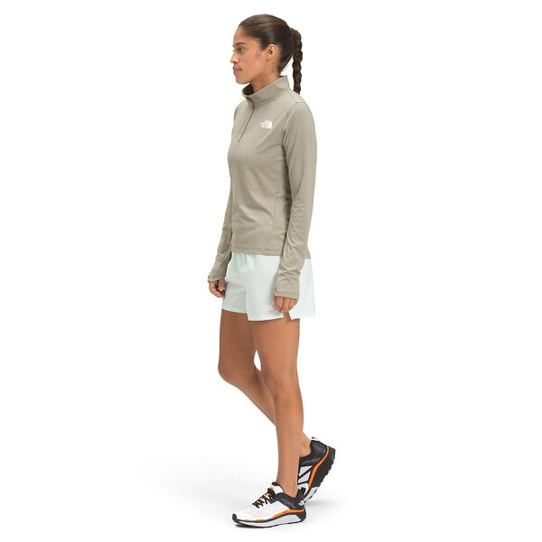 Women's Riseway ½ Zip Top, MINERAL GREY HEATHER, hi-res