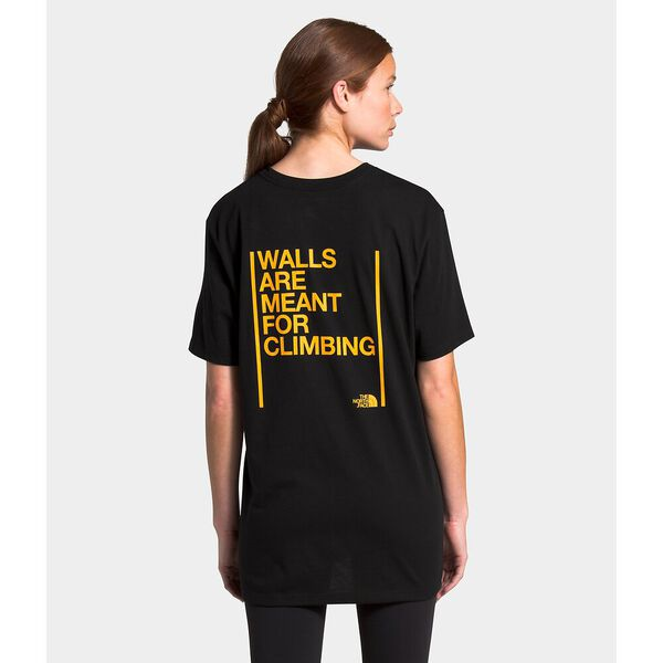Unisex Short-Sleeve Walls Are Meant For Climbing Tee