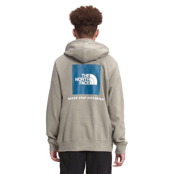 Men's Box NSE Pullover Hoodie, MINERAL GREY, hi-res
