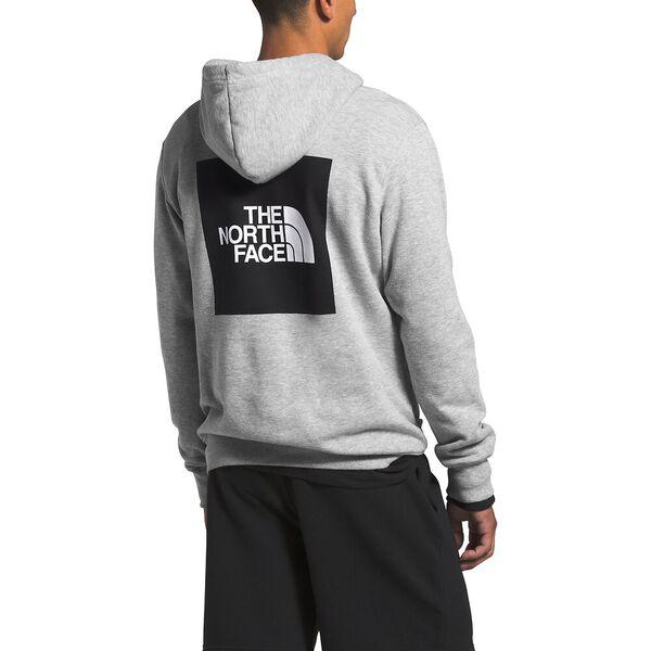 Men's 2.0 Box Pullover Hoodie, TNF LIGHT GREY HEATHER, hi-res