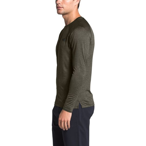 Men's HyperLayer Flashdry™ Long-Sleeve, NEW TAUPE GREEN HEATHER, hi-res