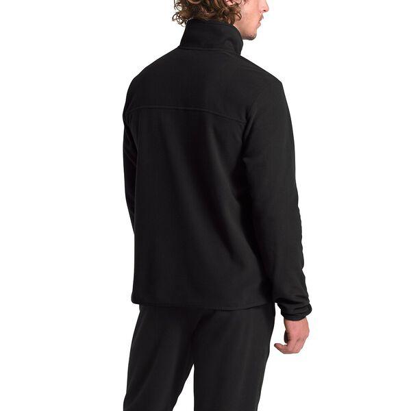 Men's TKA Glacier Fleece ¼ Zip, TNF BLACK/TNF BLACK, hi-res