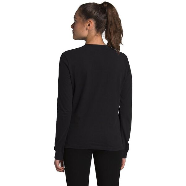 Women's Long-Sleeve Brand Proud Tee, TNF BLACK/TNF WHITE, hi-res