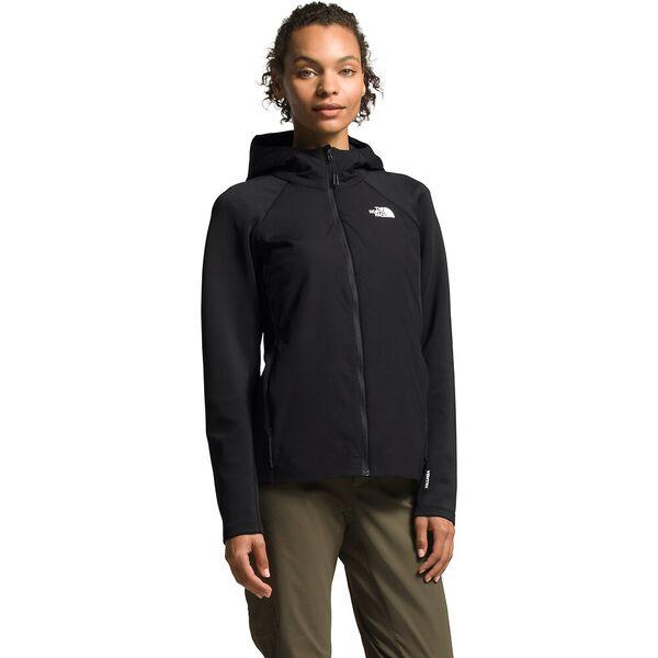 Women's Ventrix™ Active Trail Hybrid Hoodie, TNF BLACK, hi-res