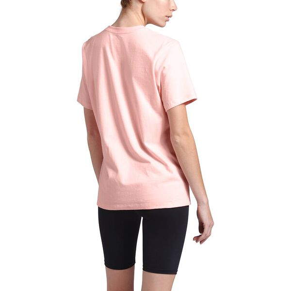 Women's Short-Sleeve Half Dome Cotton Tee, IMPATIENS PINK, hi-res
