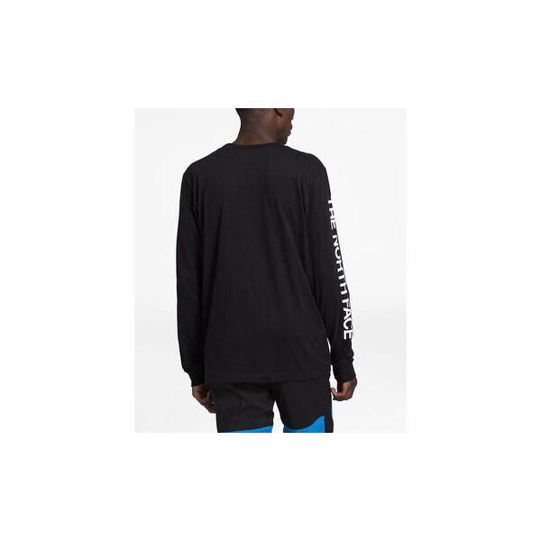 Men's Long-Sleeve TNF™ Sleeve Hit Tee, TNF BLACK, hi-res