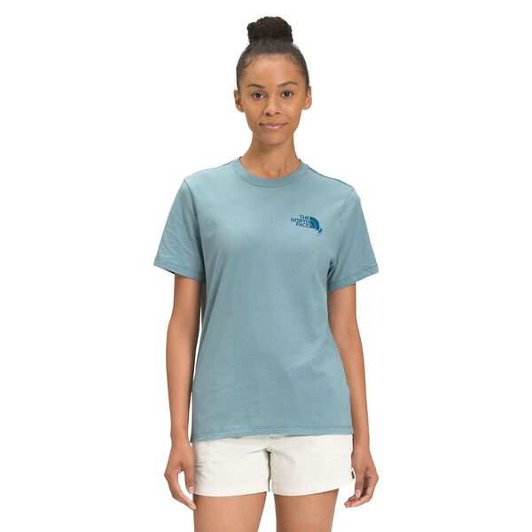 Women's Short-Sleeve Dome Climb Tee, TOURMALINE BLUE, hi-res