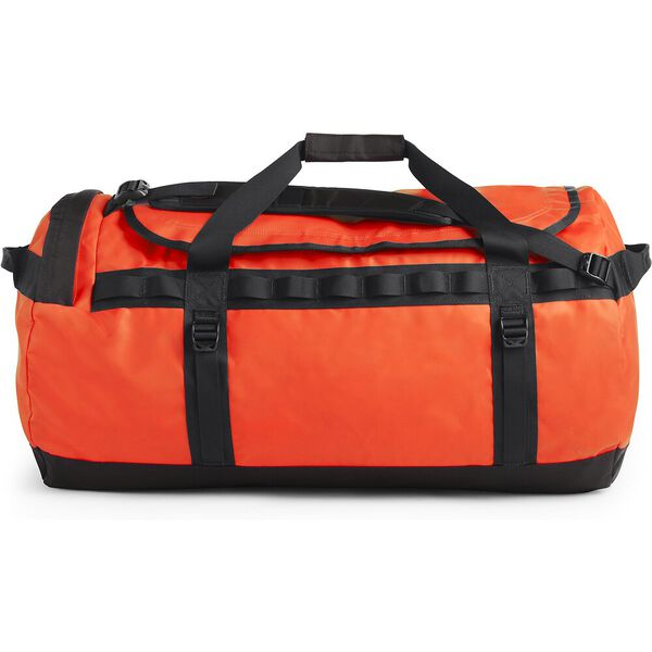Base Camp Duffel - L, PERSIAN ORANGE/TNF BLACK, hi-res