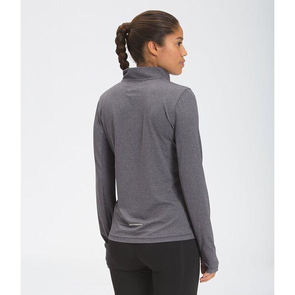 Women's Riseway ½ Zip Top, TNF BLACK HEATHER, hi-res