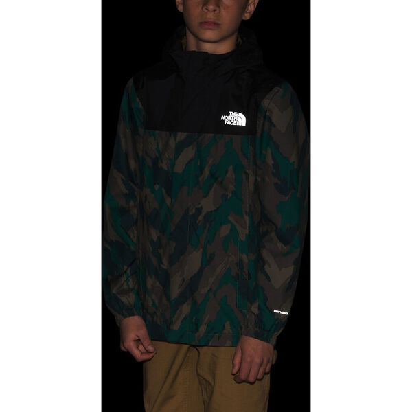 Boys' Resolve Reflective Jacket, EVERGREEN MOUNTAIN CAMO PRINT, hi-res