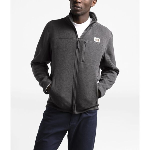 MEN'S GORDON LYONS FULL ZIP FLEECE, TNF DARK GREY HEATHER, hi-res