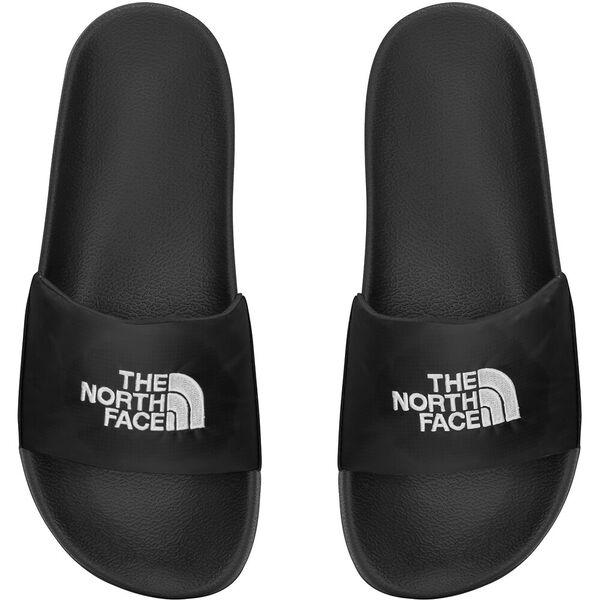 WOMEN'S NUPTSE SLIDES, TNF BLACK/TNF WHITE, hi-res