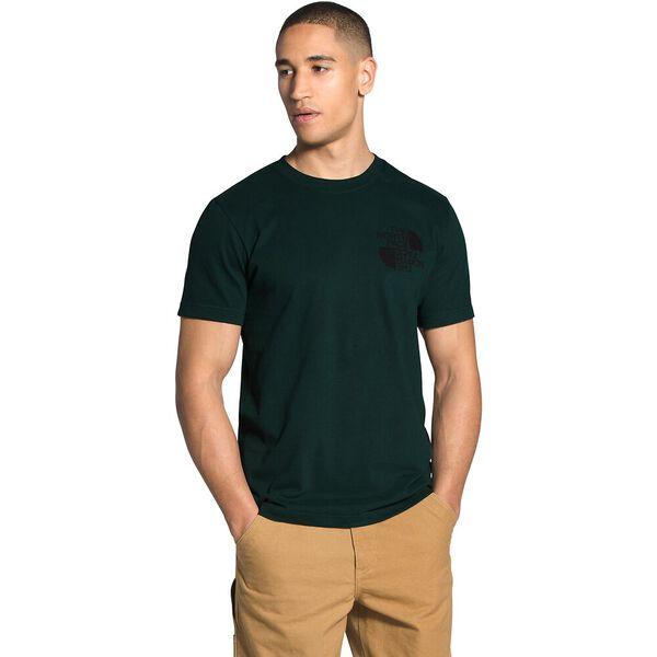 Men's Short-Sleeve Double Dome Tee, SCARAB GREEN, hi-res