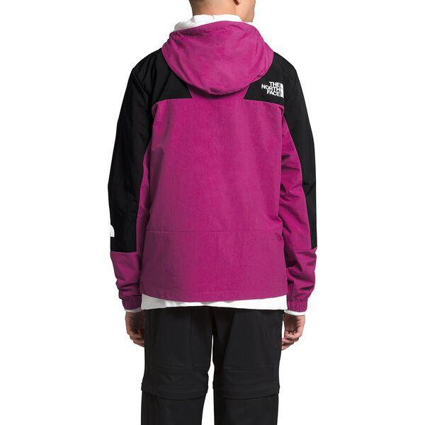 Men's Peril Wind Jacket, WILD ASTER PURPLE/TNF BLACK, hi-res