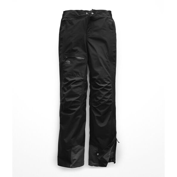 WOMEN'S DRYZZLE FULL ZIP PANT, TNF BLACK, hi-res