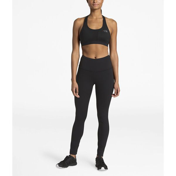 WOMEN'S MOTIVATION HIGH-RISE TIGHTS, TNF BLACK, hi-res