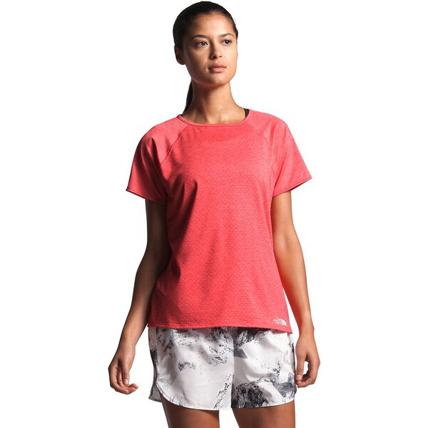 Women's Active Trail Jacquard Short-Sleeve