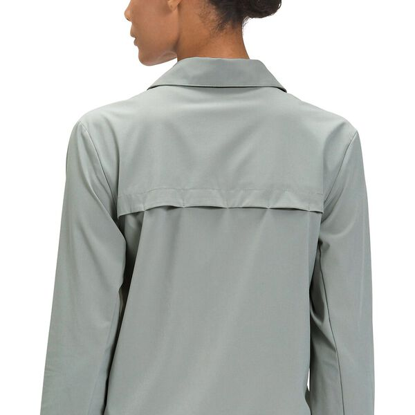 Women's First Trail UPF Long-Sleeve Shirt, WROUGHT IRON, hi-res