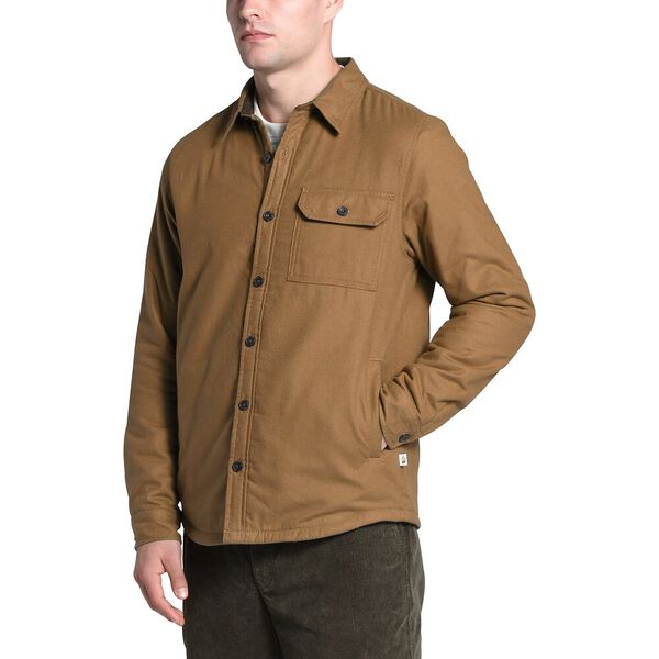 Men's Campshire Shirt, UTILITY BROWN, hi-res