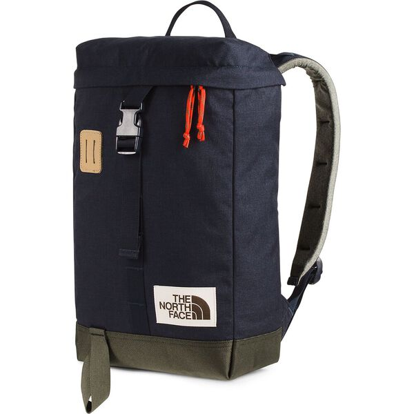 Top Loader Daypack, AVIATOR NAVY LIGHT HEATHER/NEW TAUPE GREEN, hi-res