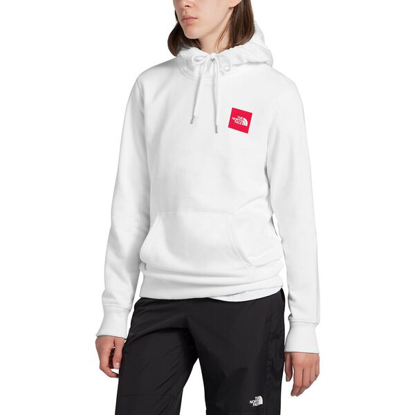 Women's Box Pullover Hoodie, TNF WHITE, hi-res