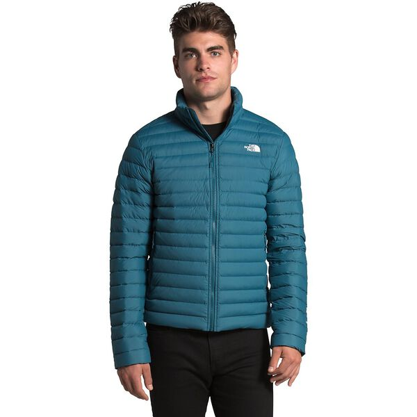 Men's Stretch Down Jacket, MALLARD BLUE, hi-res