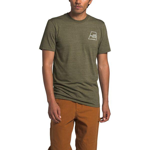 Men's Short-Sleeve Logo Marks Tri-Blend Tee