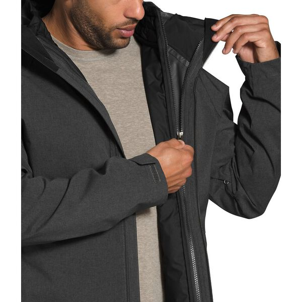 Men's ThermoBall™ Eco Triclimate® Jacket, TNF DARK GREY HEATHER/TNF BLACK, hi-res