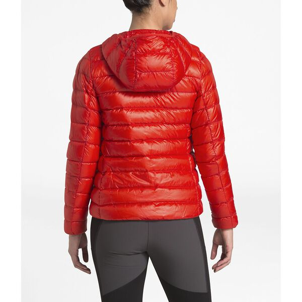 Women's Sierra Peak Hoodie, FIERY RED, hi-res