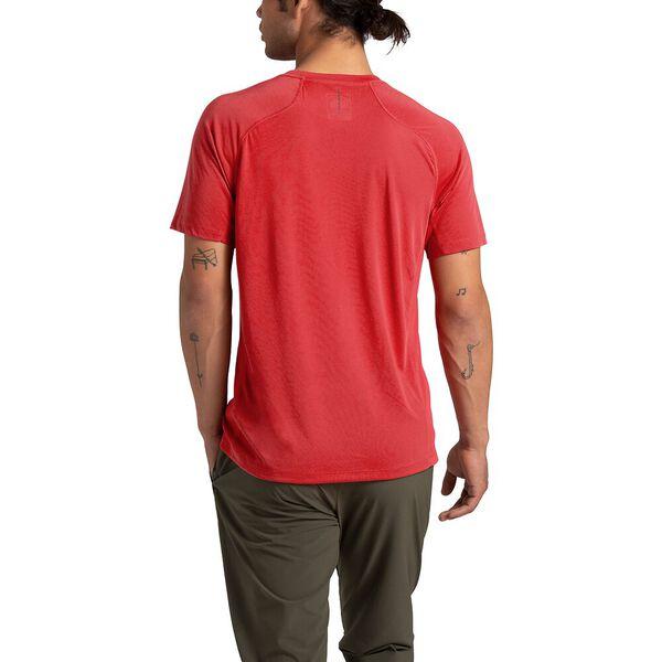 Men's Essential Short-Sleeve, POMPEIAN RED, hi-res