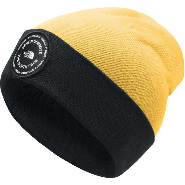 7SE Beanie, TNF YELLOW/TNF BLACK, hi-res