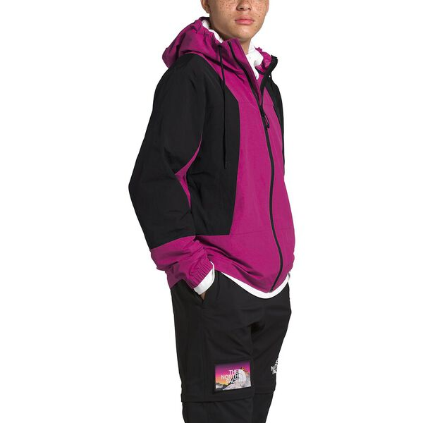 Men's Peril Wind Jacket, WILD ASTER PURPLE/TNF BLACK, hi-res