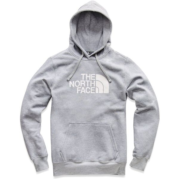 MEN'S HALF DOME PULLOVER HOODIE, TNF LIGHT GREY HEATHER/TNF WHITE, hi-res