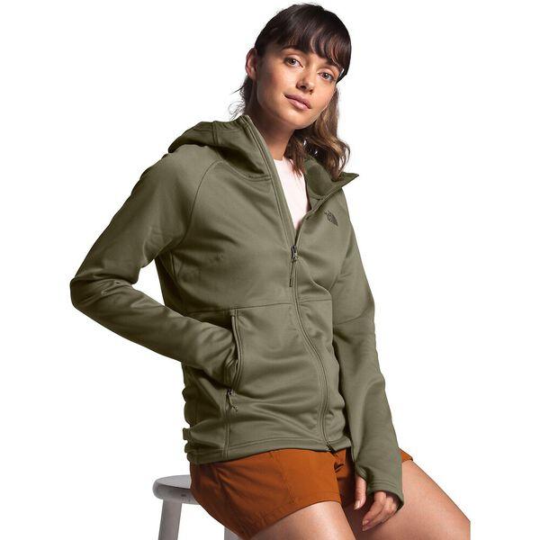 Women's Canyonlands Hoodie, BURNT OLIVE GREEN, hi-res