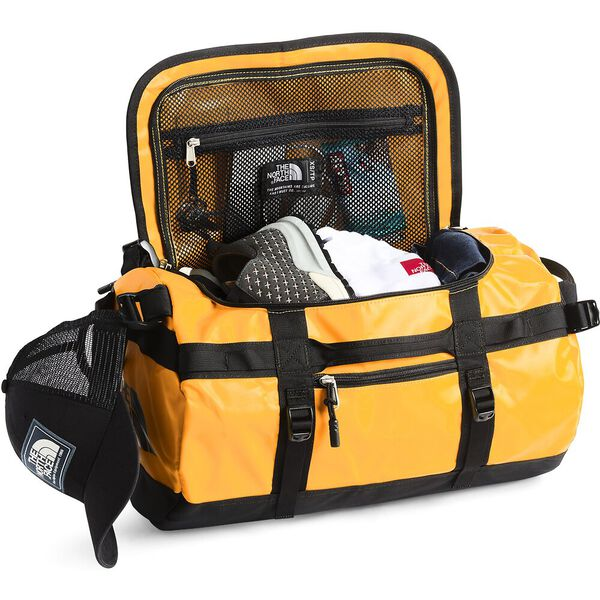 Base Camp Duffel - XS, SUMMIT GOLD/TNF BLACK, hi-res