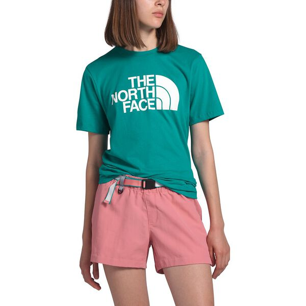 Women's Short-Sleeve Half Dome Cotton Tee