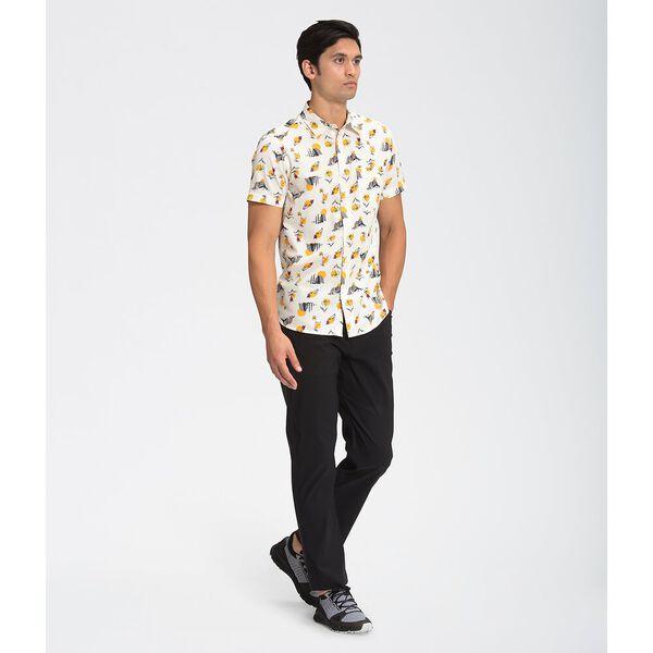 Men's Short-Sleeve Baytrail Pattern Shirt