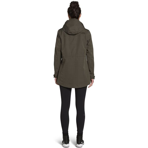 Women's Westoak City Trench, NEW TAUPE GREEN, hi-res