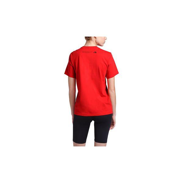 Women's Short-Sleeve Himalayan Source Tee, FIERY RED, hi-res