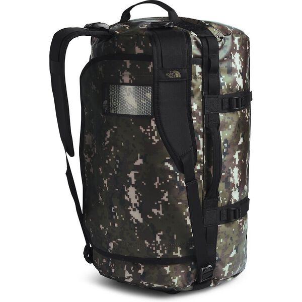 Base Camp Duffel - S, BURNT OLIVE GREEN DIGI CAMO/TNF BLACK, hi-res