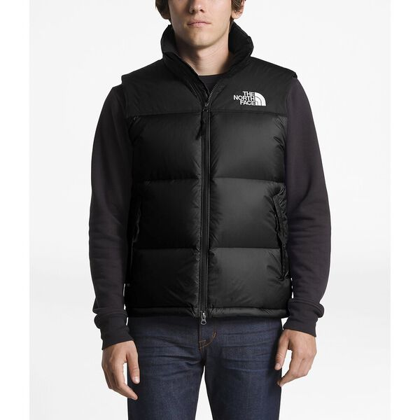 Men's 1996 Retro Nuptse Vest, TNF BLACK, hi-res