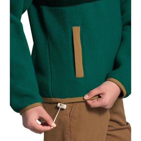 Women's Cragmont Fleece ¼ Snap, SCARAB GREEN/EVERGREEN, hi-res