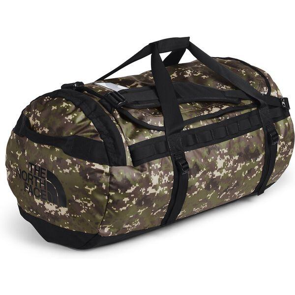 Base Camp Duffel - L, BURNT OLIVE GREEN DIGI CAMO/TNF BLACK, hi-res